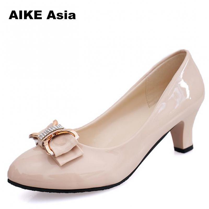 7e5844dced6 Compre 2019 Tamaño Grande 34 42 Mujeres Bombas Moda Sexy Punta Estrecha  Tacones Altos Zapatos De Mujer Zapatos De Tacón Alto De Mujer Desnuda Solo  # F820 A ...