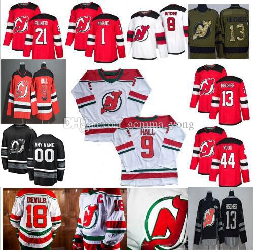 Custom 2019 Men's Women Youth New Jersey Devils Any Name Number Jerseys Keith Kinkaid Kyle Palmieri Travis Zajac Jesper Bratt Miles Wood Wil