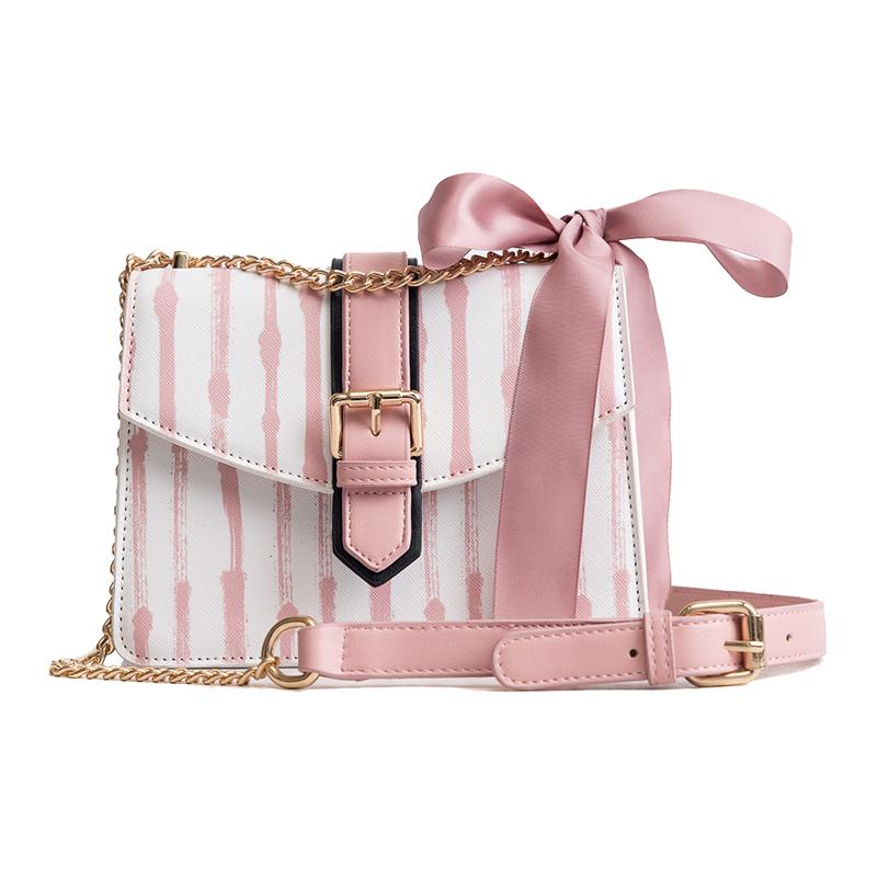 b8fc6a8db7aa Sweet Lady Phone Bag Women S Designer Handbag 2019 Fashion New High Quality  Pu Leather Women Bag Ribbon Bow Tote Shoulder Bags Crossbody Bags Satchel  From ...