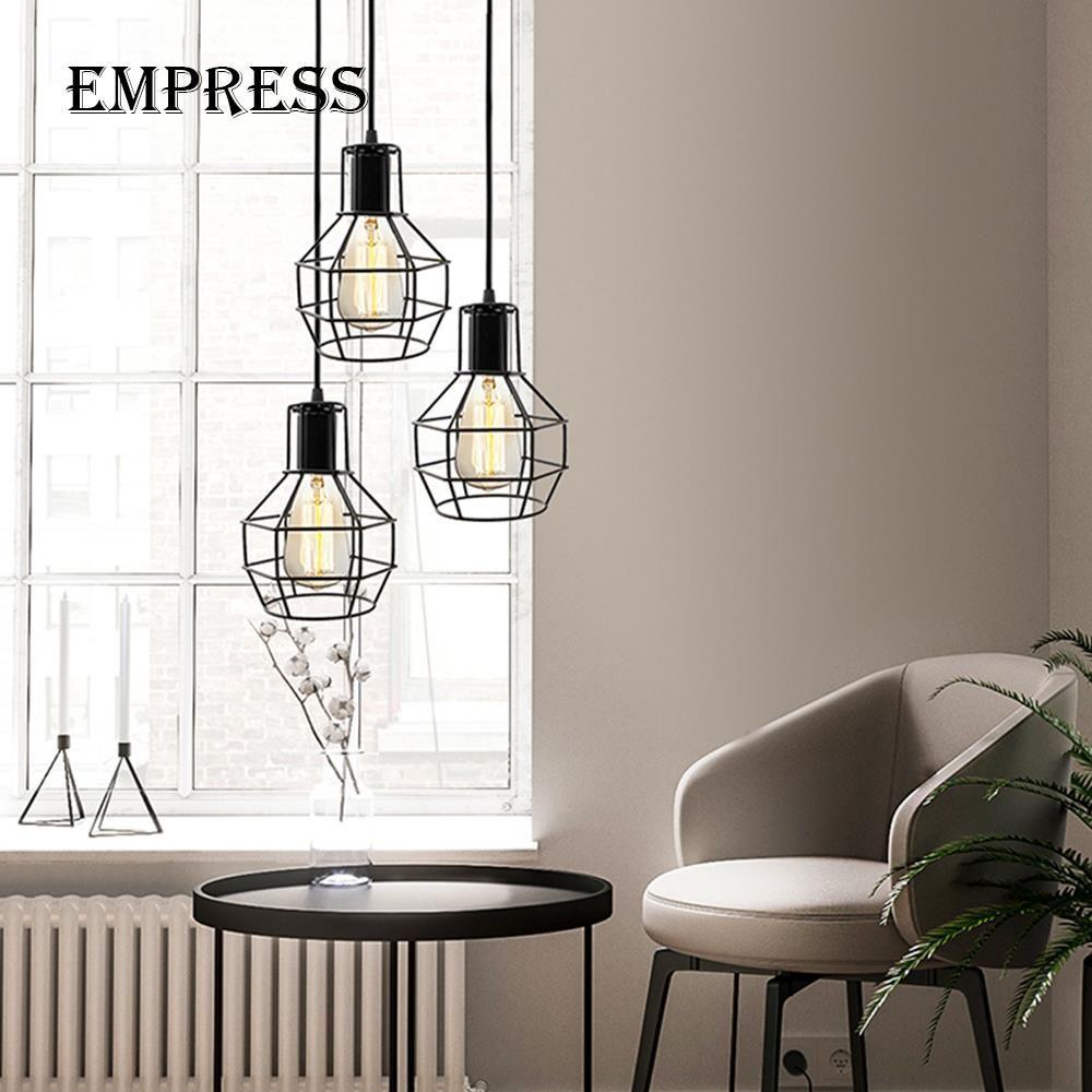 Grosshandel Moderne Pendelleuchte Vintage Industrielle Lampe Schwarz