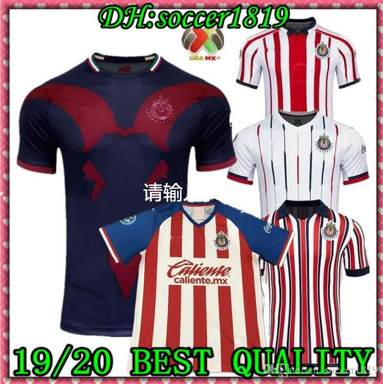 2019 2020CHIVAS Guadalajara club world cup LIGA MX Club America UNAM soccer Jersey Club de Cuervos Football Camisetas Shirt Kit Maillot