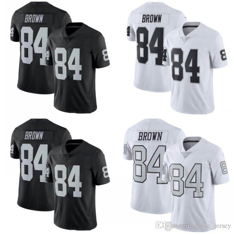 more photos 8a4be 89b8f Oakland 84 Antonio Brown Raiders Jersey 2019 New Black white Mens WOMEN KID  Stitched Football Jerseys Men 24 Marshawn Lynch 4 Derek Carr