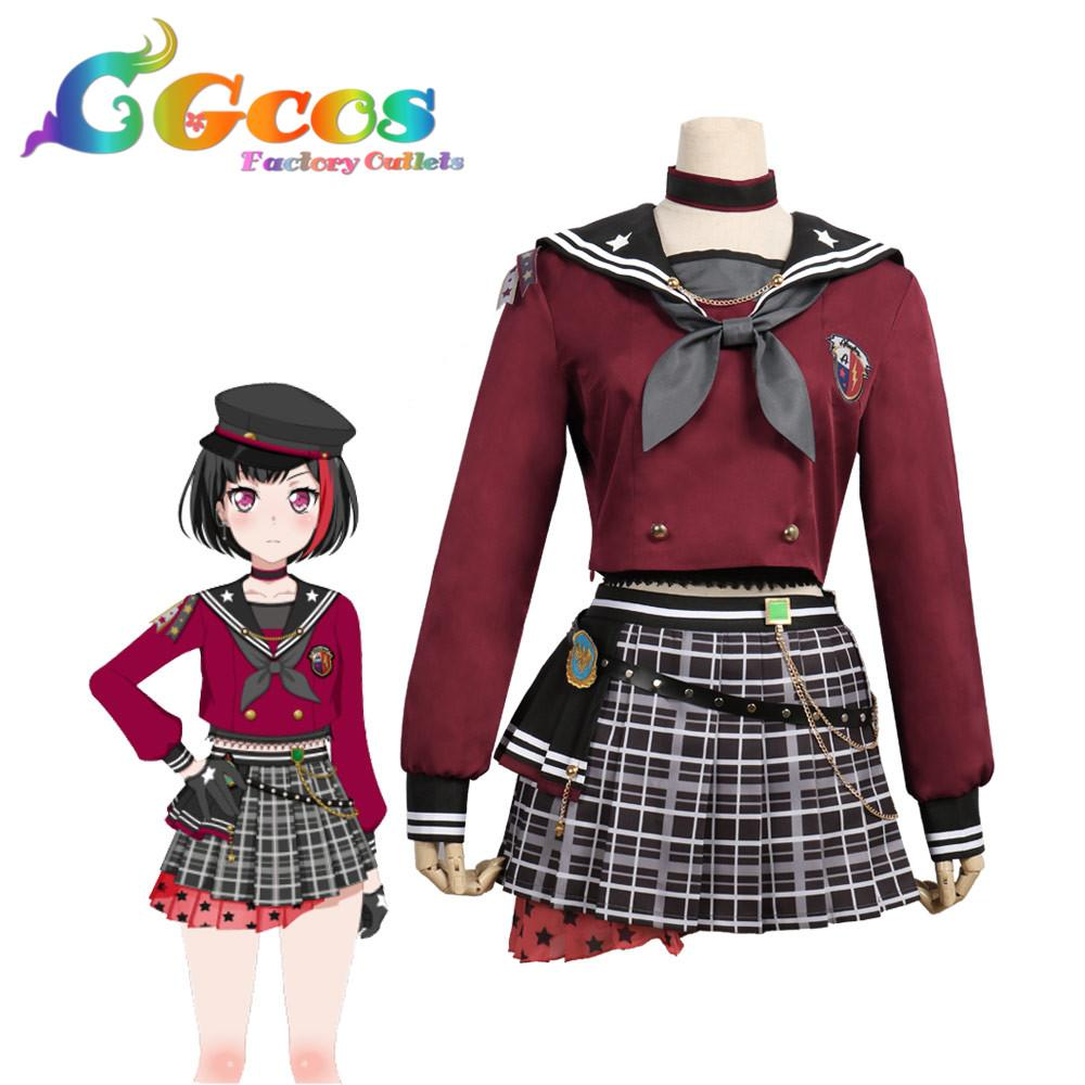 Cgcos Cosplay Costume Bang Dream Afterglow Lost One Mitake Ran