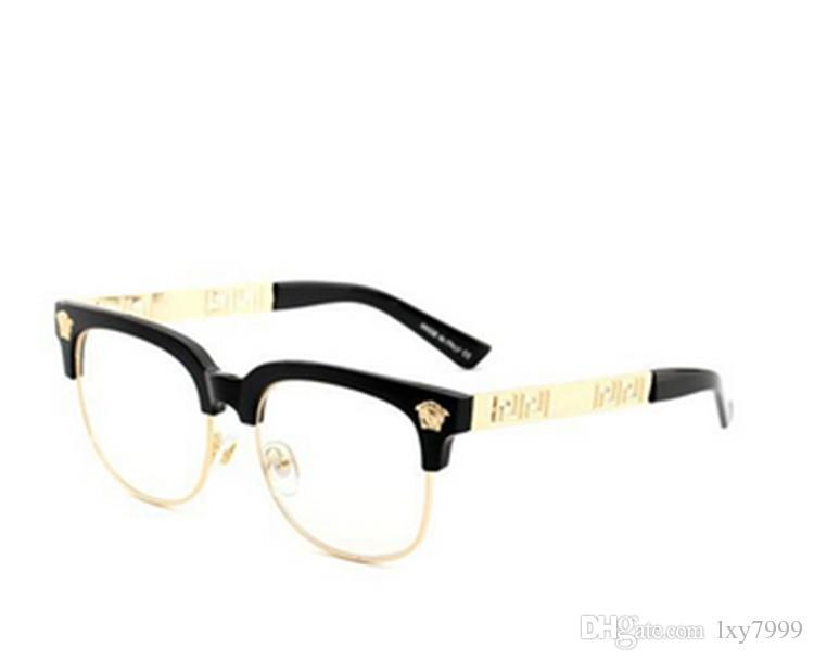b11f7073e8 Medusa Brand Designer Sunglasses Wood Glasses for Men Women Fashion Buffalo  Sunglasses Clear Brown Lens Wooden Frame 2019 Online with  27.54 Piece on  ...