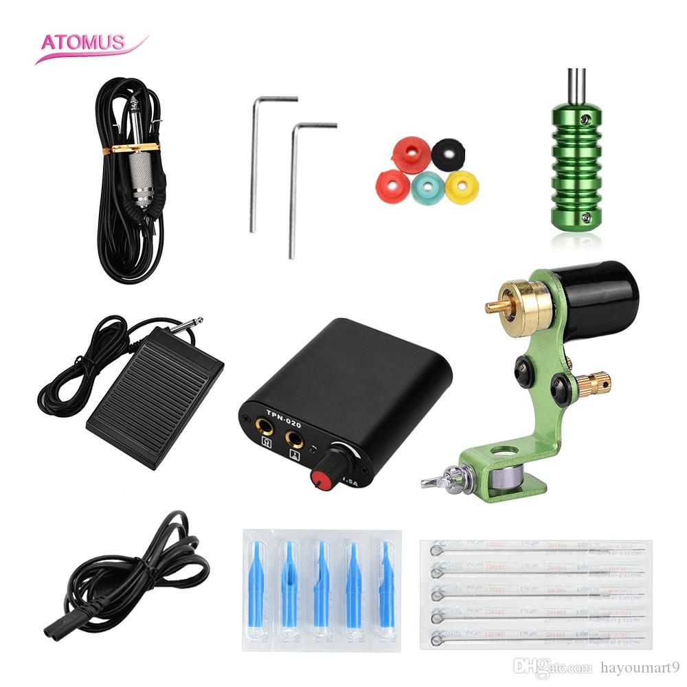 Tattoo Kit Professional Machine Rotary Motor Kits Pen Complete ...