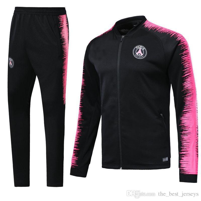 d244e78bee7c 18 19 DI MARIA CAVANI Paris Training Suit Soccer Jerseys Kit 2018 ...
