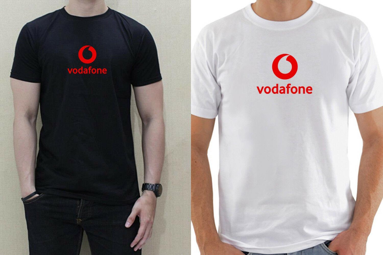 80a761a2b48 Compre VODAFONE ICON LOGO SPORT Hombre Camiseta Blanca Negra 100% Algodón  Manga Corta Divertido Envío Gratis Unisex Casual Top A $12.96 Del Wrapfairy  ...