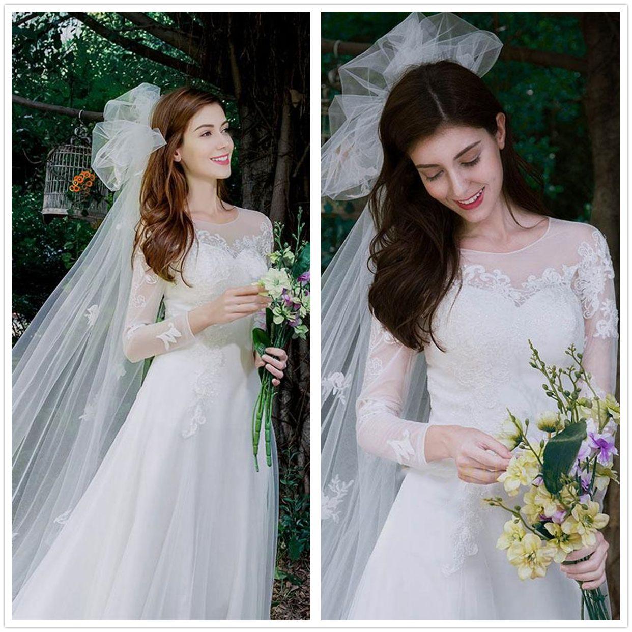 Discount Stunning White Tulle Wedding Dresses 2019 Beach