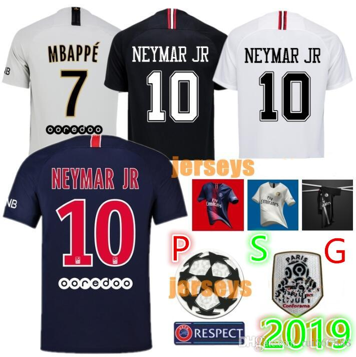 b97579e13 2019 2019 2020 PSG Third Maillot MBAPPE Soccer Jersey CAVANI VERRATTI Top  Thailand 19 20 Paris Football Shirt KIMPEMBE Camiseta De Futbol From  Rui666888