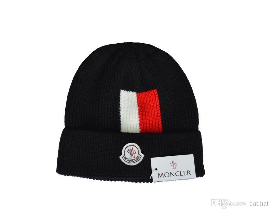 1a8471b9bc4 2018 Franc Brand Mens Designer Hats Bonnet Winter Beanie Knitted ...