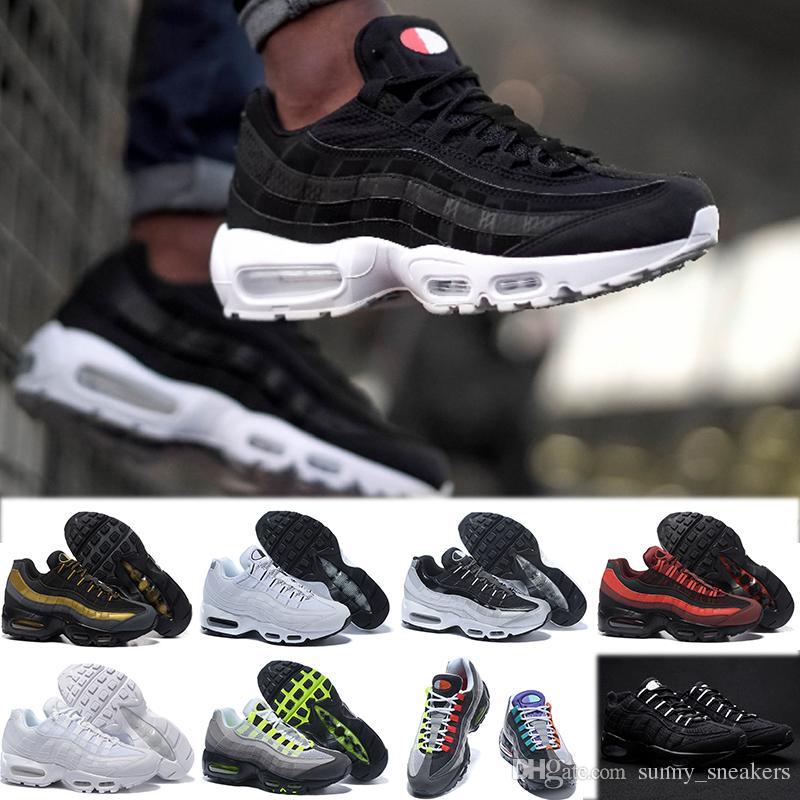 size 40 bebe3 76399 nike air max 90 95 97 98 270 Envío de la gota zapatos corrientes de los  hombres Airs Cushion 95 OG Sneakers Boots Authentic 95s New Walking  descuento ...