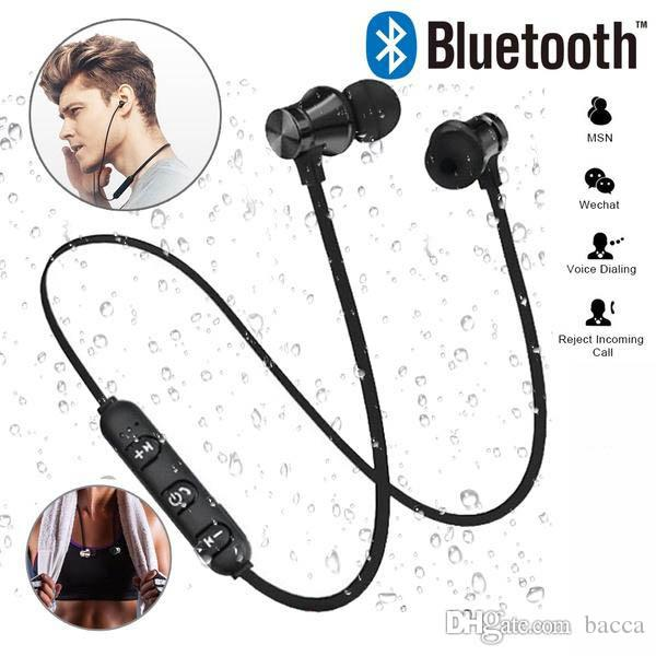 Bluetooth Headphones with MIC Wireless Bluetooth Earphone Sport Sweatproof Bass Music Headset for iPhone Samsung Xiaomi All Smartphone
