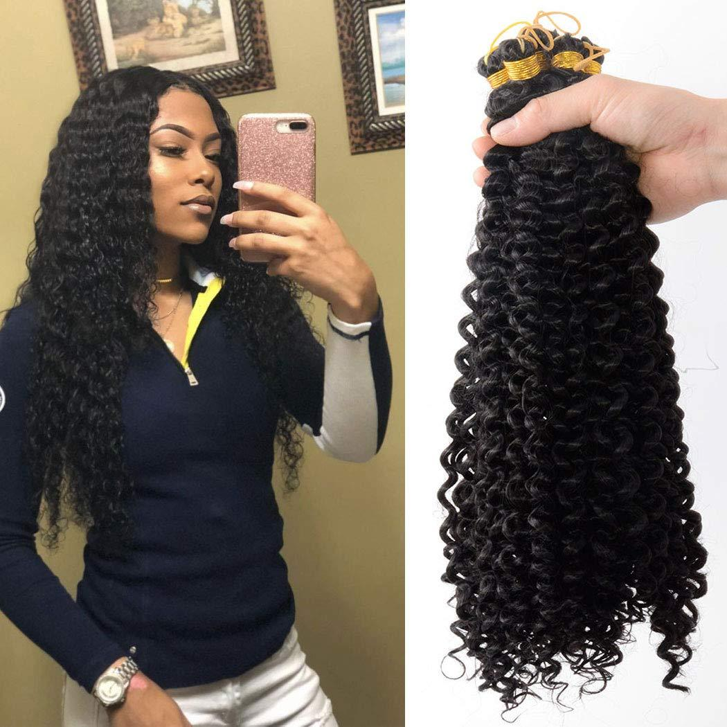 Hot 1pack Water Wave Crochet Hair 20 Inch Synthetic Fiber Natural Braids For Passion Twist Braiding Hair Extensions 20inch 1b