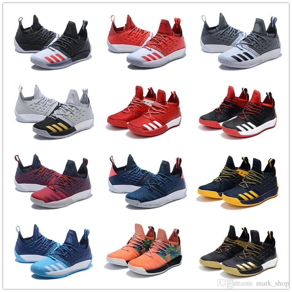 James Harden 2 Generation Combat Boots Top Quality low cut Lightweight breathable Sports Sneaker 13# big beard Basketball Shoes Casual shoes