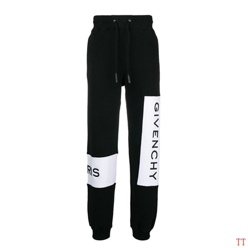 Fashion Mens Designer Pants Brand Jogger Pants Top Quality Casual Track Trousers Side Letter Drawstring Pant Men Brand Sport Sweat Pants