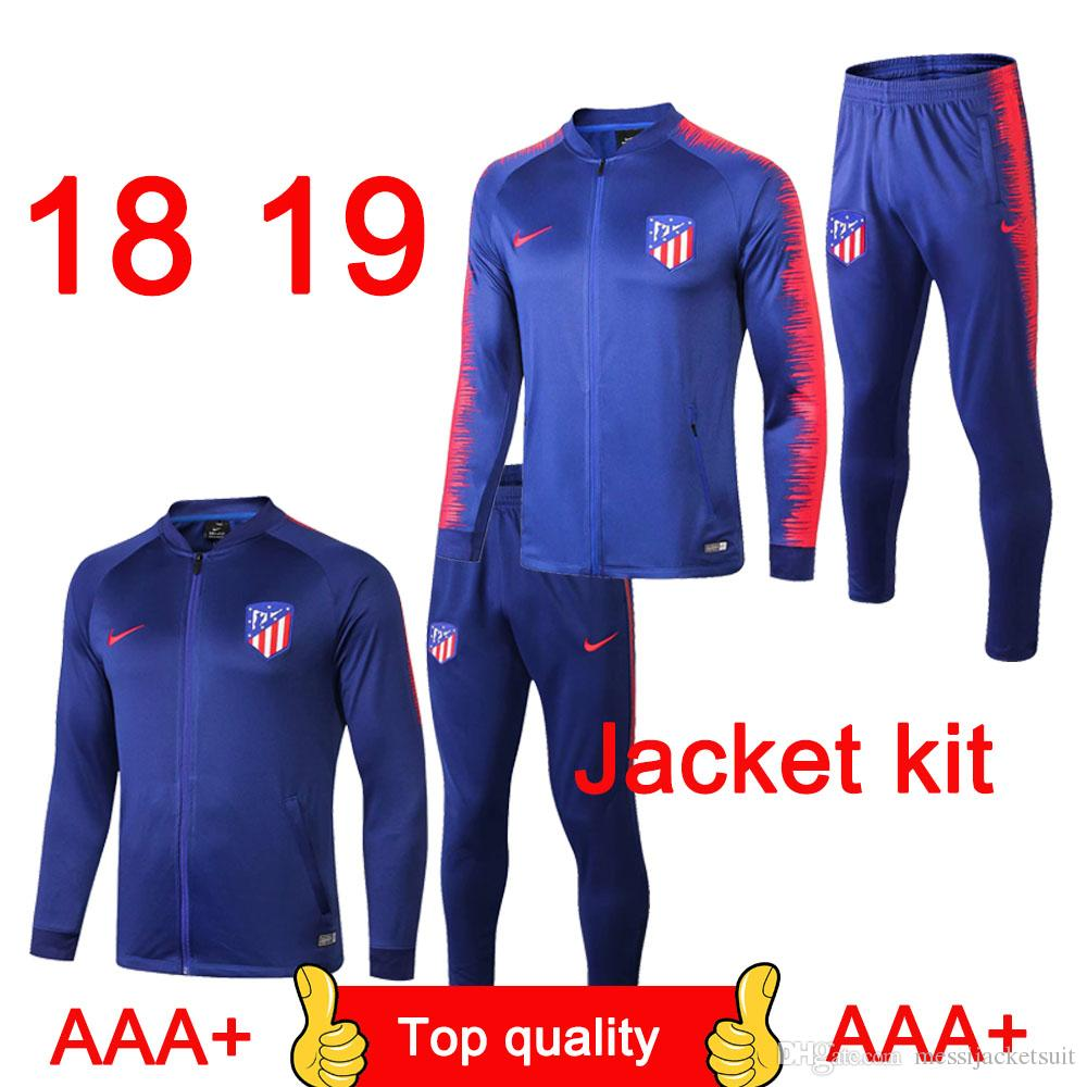 73f3d0390 Best-selling Atletico Madrid Jacket Tracksuits Suits 1819 Costa ...