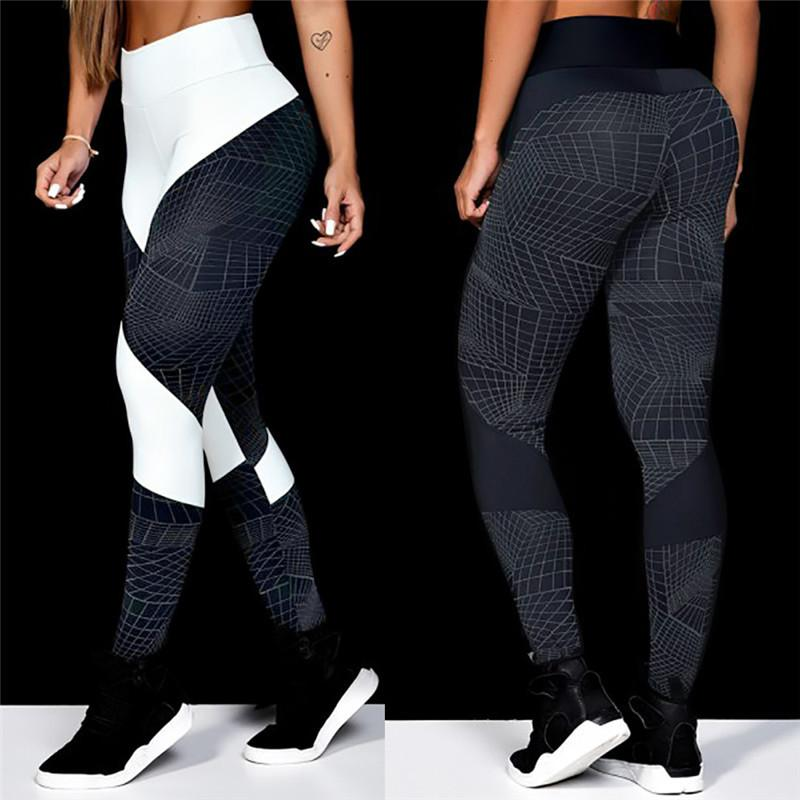2019 Sexy Push Up Gym Wear Elastic Slim Pants Women S Fashion Workout  Leggings Fitness Sports Gym Running Yoga Athletic Pants From Masn 332391b40580