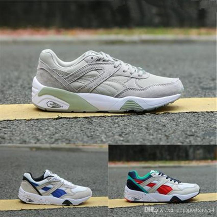 wholesale dealer 5d60b df7af 019 New Creepers High Quality Trinomic BLAZE OF GLORY SOFT Shoes Men Women  Running Basketball Trainer Sneakers Size 36-44