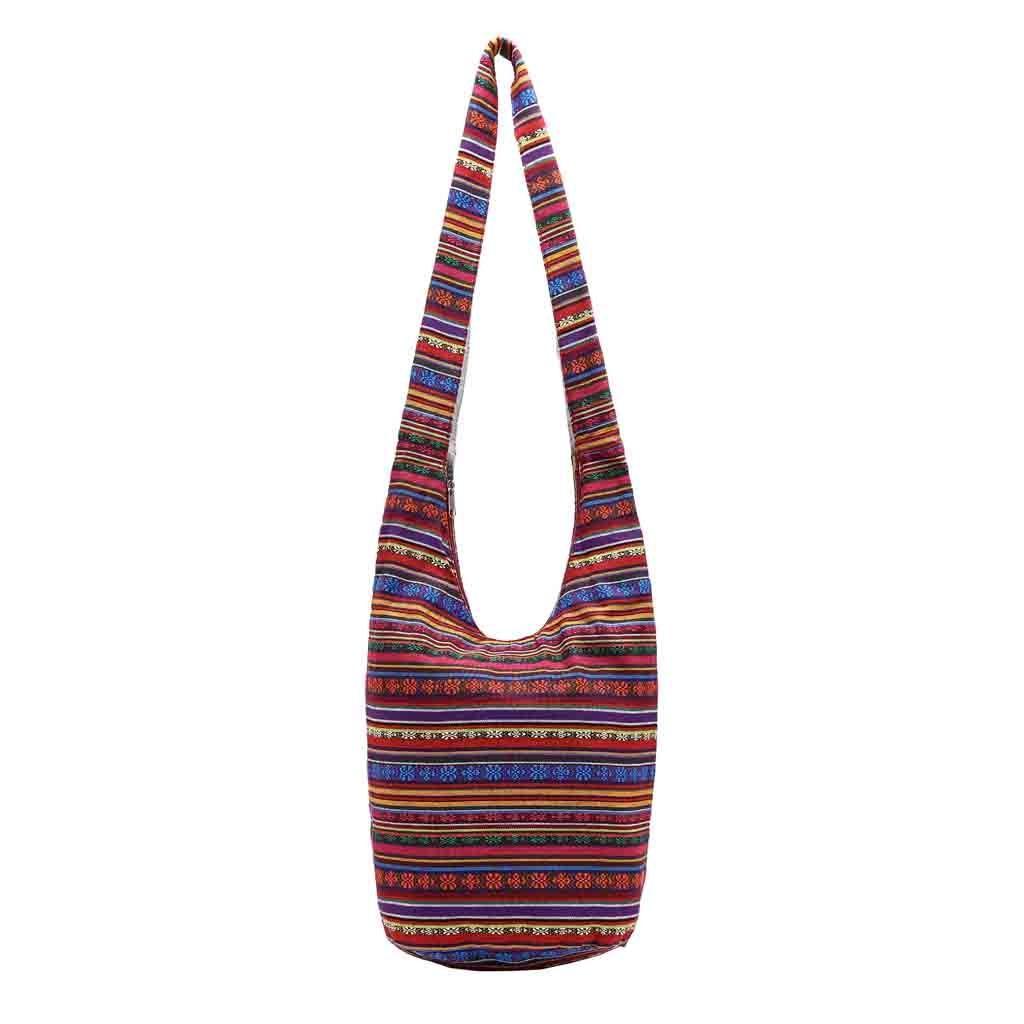New Fashionable High Quality Canvas Floral Folk Custom Women Bucket Bag  Hand Bag Printing Crossbody Bolsos Mujer Name Brand Purses Overnight Bags  From ... 71e7481d65bf8