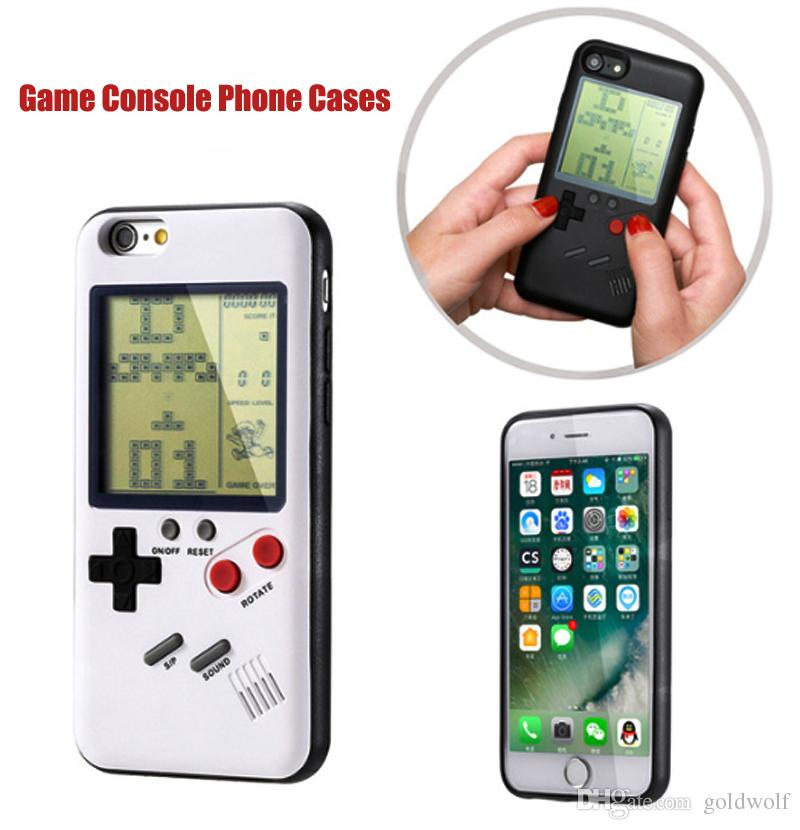 low priced 972c8 7a35a Free DHL Retro game tetris cases for iphone 6 plus 6s 7 8 plus TPU Phone  back game consoles Cover for iPhone Cases