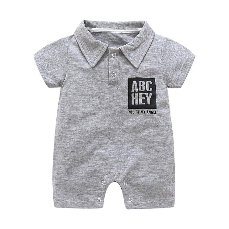 51bf97ddb08 Quality Newborn Summer Baby Girls Romper Bebes Clothes Outfit Cotton  Jumpsuit Playsuits Boys Girls Printed Jumpsuit Clothes Online with   37.3 Piece on ...