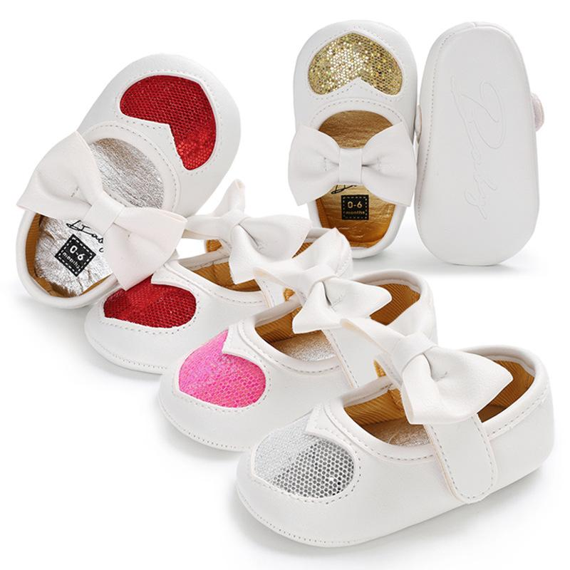 0fa69124e390 2019 Pu Infant Toddler Girl Shoes Baby First Walker Shoes Soft Soles ...