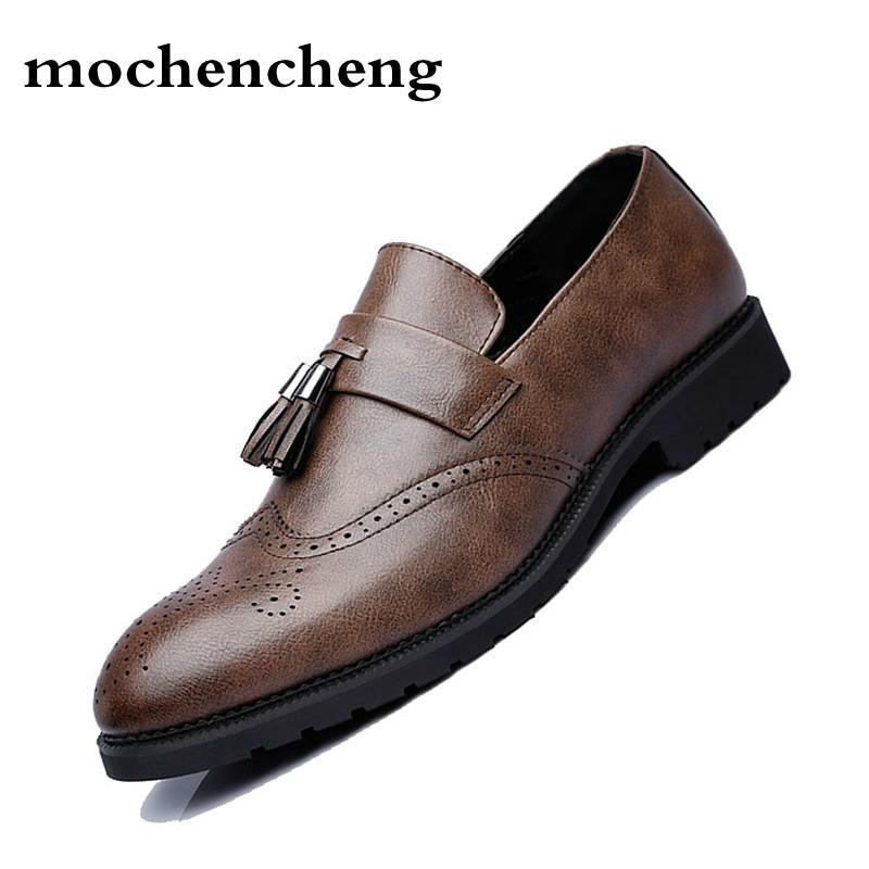 Negocios Vestido Formales Hombres Para Zapatos Compre De YqAFx cc119b9c070de