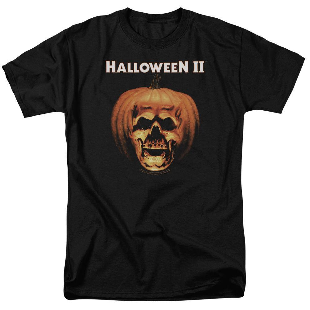 Halloween II Pumpkin Shell T-Shirt Sizes S-3X NEW 2018 New Men tee 2018 fashion T-Shirts Summer short sleeves