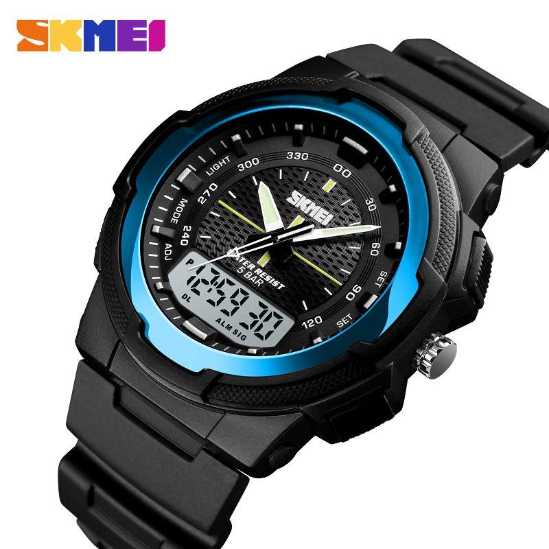 59233c6e1 Men Military Watches Army Men s Wristwatch LED Quartz Watch Digtial ...