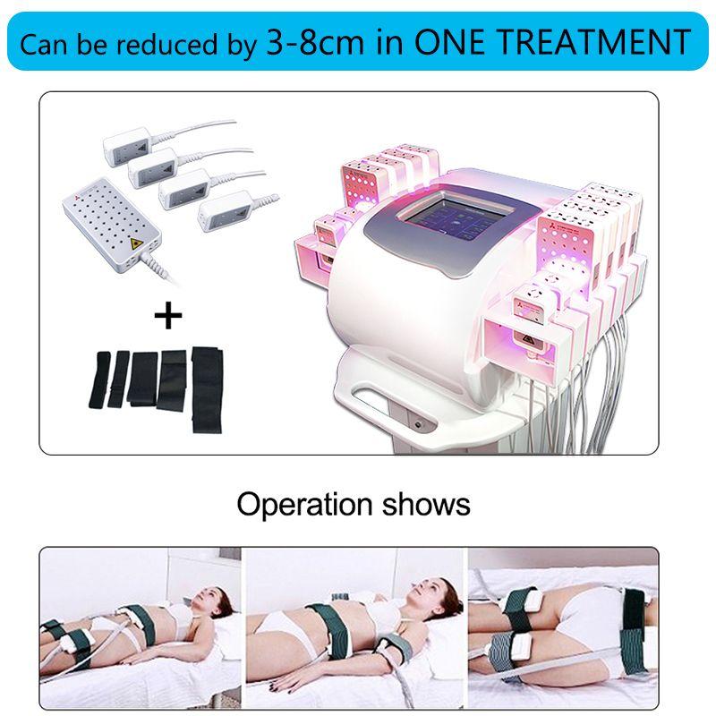 Lipolaser equipment face lift Best Lipo Laser Machine for sale Laser Lipo Slimming Machine Body slim