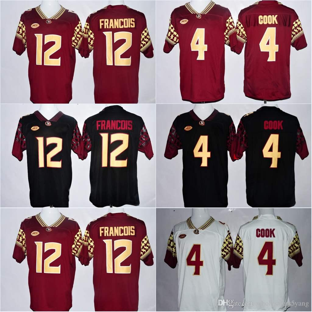 various colors f53dc e9ca2 Florida State Seminoles FSU #12 Alex Hornibrook #1 James Blackman #3 Cam  Akers #8 Receiving Yards 9 Jacques Patrick #2 Deion Sanders Jerseys