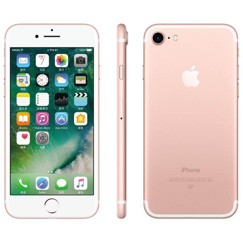 Refurbished 100% Original Apple iphone 7 7 Plus With fingerprint Unlocked  32GB 128GB IOS10 Quad Core 12 0MP CellPhone