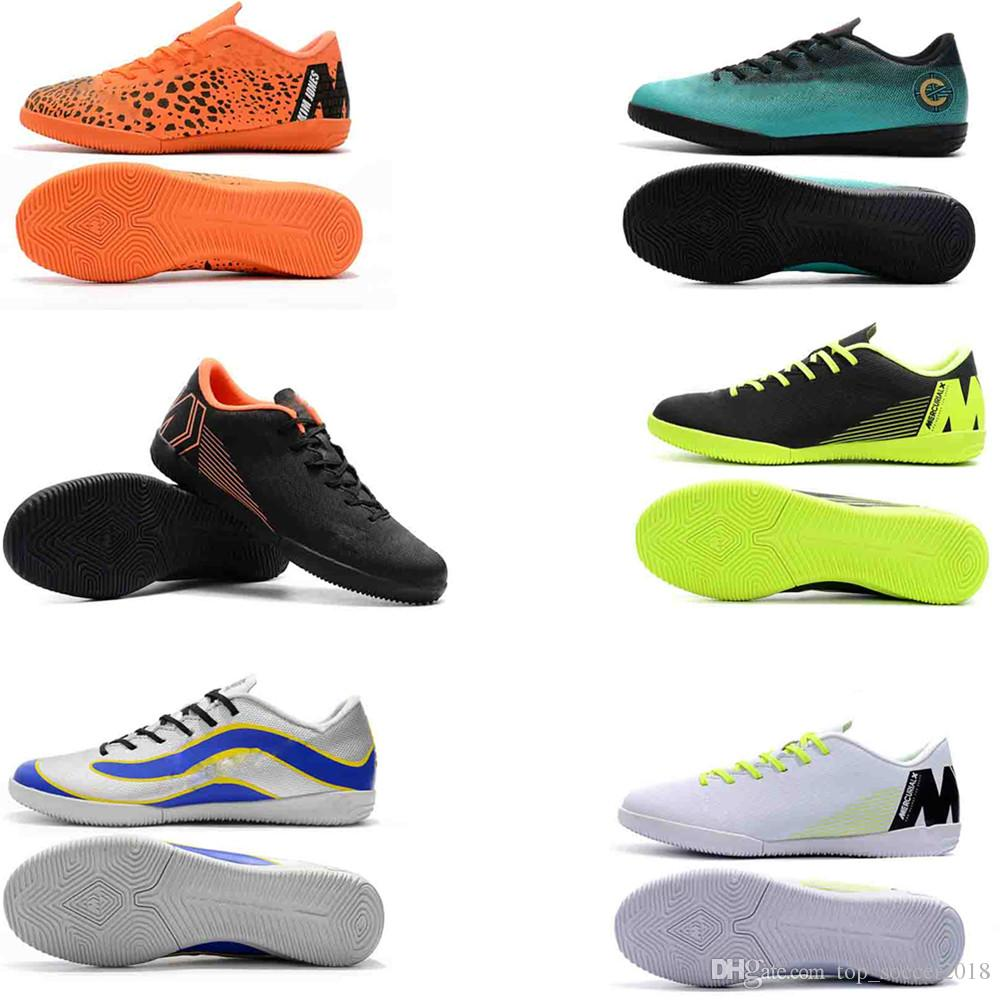 d6ae0ded99e 2019 Mercurial Superfly VI 360 Elite IC Mens ACC Soccer Cleats World Cup  Neymar Soccer Boots CR7 Cristiano Ronaldo Waterproof Football Shoes From ...