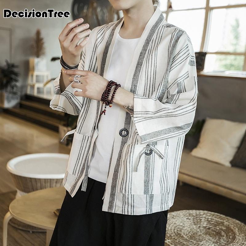 2f4a6d069 2019 2019 New Mens Kimono Designer Cool Japanese Clothes Swag Male  Streetwear Casual Outwear Jackets Harajuku Cardigan Outwear From Jerkin,  $48.17   DHgate.