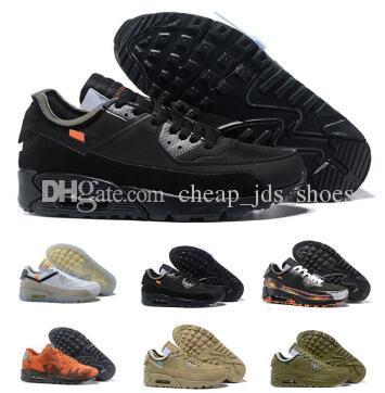 90 Off Zapatos para correr Zapatillas de deporte Hombre Hombre Desert Ore Navy Airing Moda 2019 Diseñadores Lujo Clásico 90s China Entrenamiento
