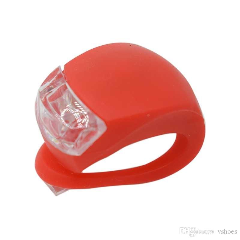WasaFire Cycling Warning light Silicone Bicycle Lights Helmet LED Flash light Waterproof Wheel Front Bike Light Rear Tail Lamp #367390
