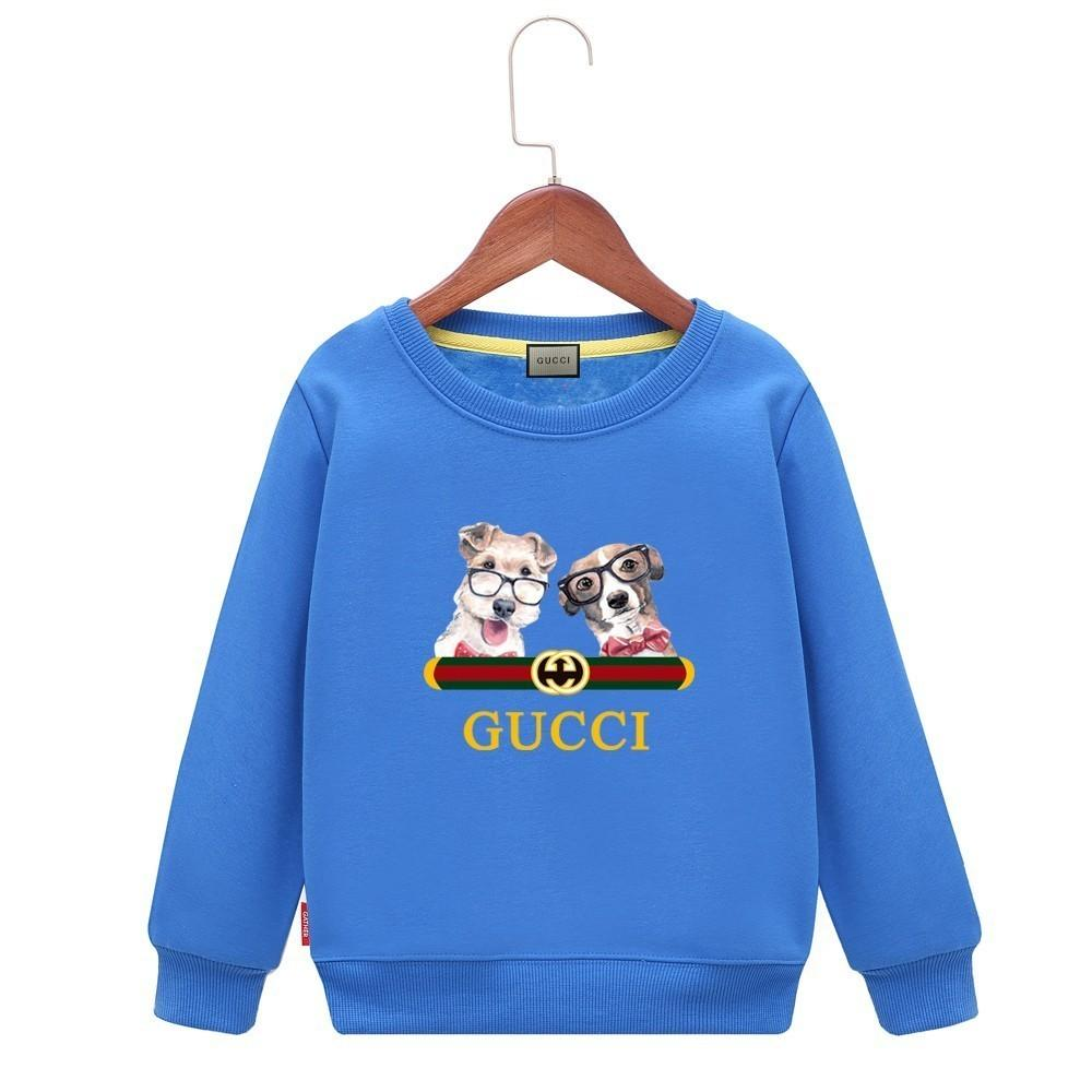 16e80794a21 2019 Kids Dog Hoodie Cartoon Pattern Comfortable Children Sweater Colors  Boys Baby Coats Jackets Clothing From Fenash10