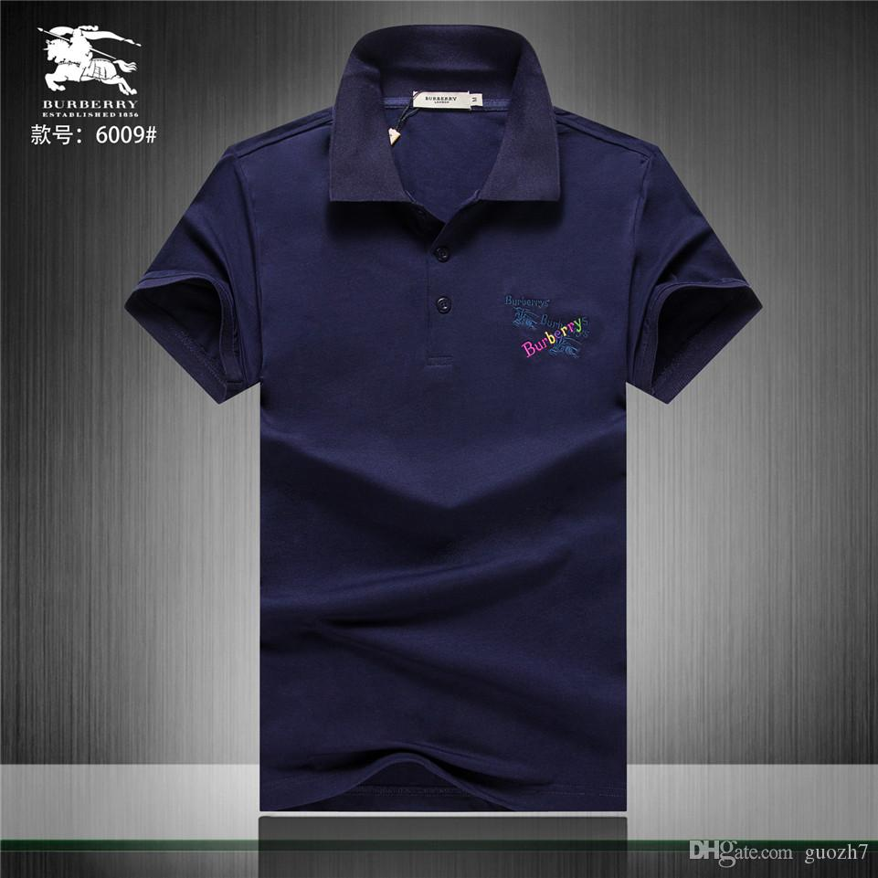 f5ee332f2 2019 Black Polo Men Autumn Polo Shirt Men Long Sleeve Casual Brand Polo Man  Spring Social Men S Polos Slim Fit Cotton Jersey From Guozh7
