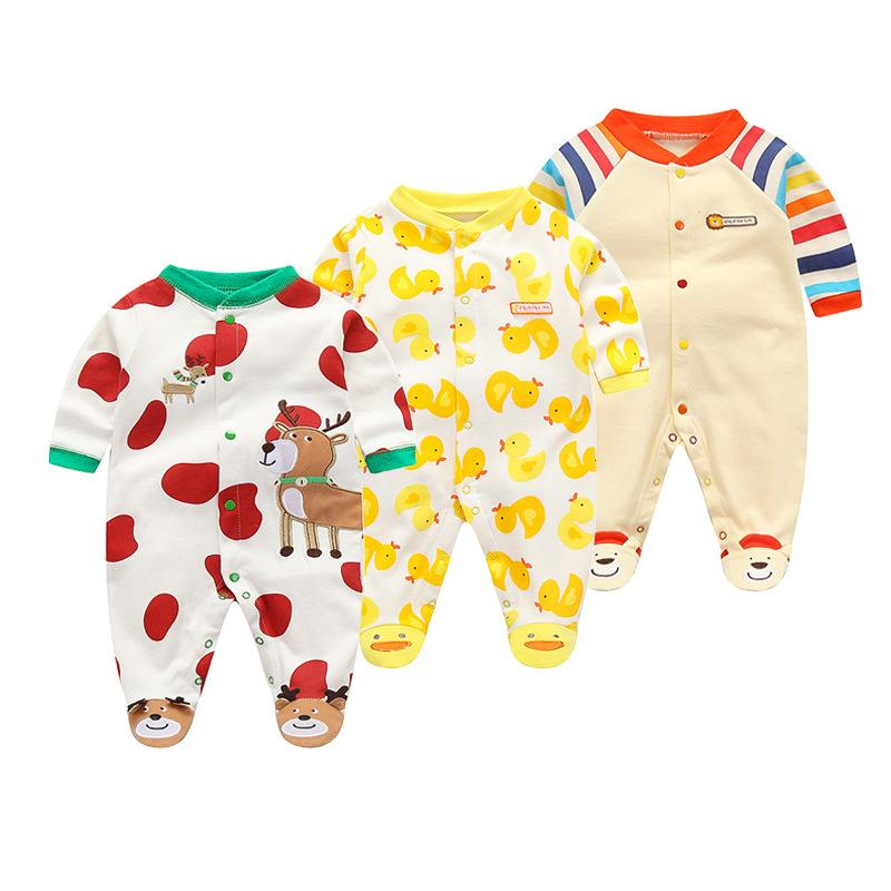 3cb632033 2019 Toddle Girls Rompers 2019 Autumn Baby Boys Jumpsuit Fashion ...