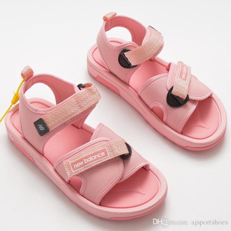 9a551c37232 New Luxury Brand Designer Balance Men s Summer Sandals Flat Vintage ...