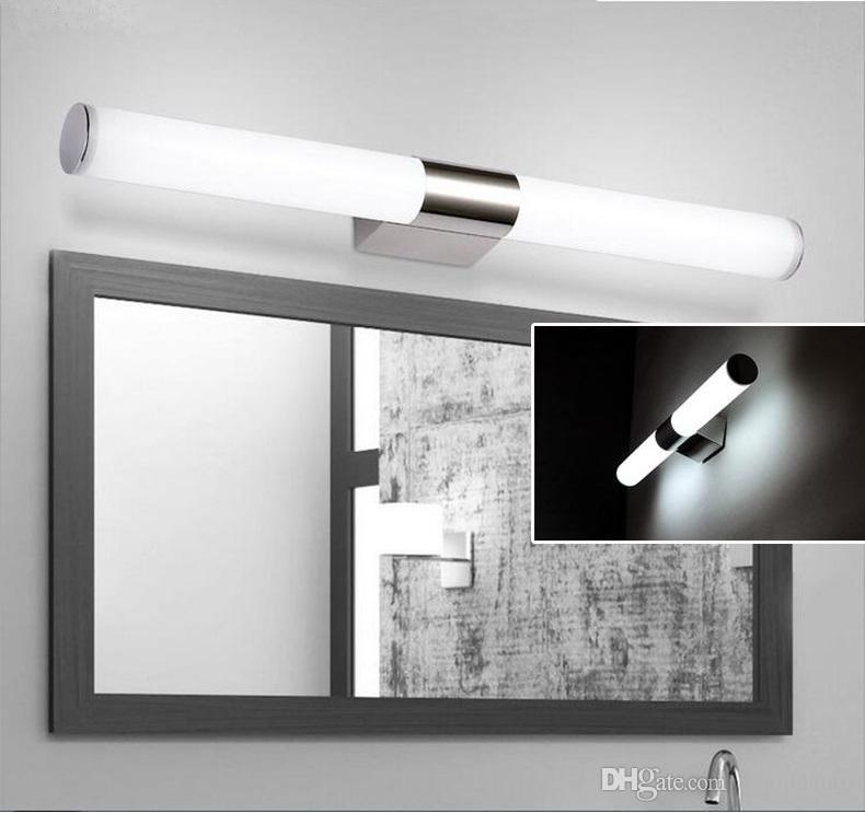 Led Wall Lamps 16w Ac85-265v Modern Led Mirror Light Waterproof Fixture Wall Mounted Indoor Corridor Bathroom Lighting 40cm Online Shop Led Indoor Wall Lamps