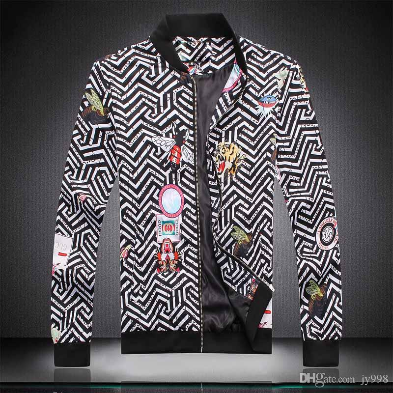 2020ss Autumn&Winter new luxury design long sleeve Medusa men's windbreaker jacket men's casual jacket M-3XL 668