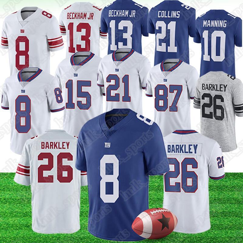 best deals on 4b424 71612 8 Daniel Jones jersey New 26 Saquon Barkley York Gaint jerseys 13 Odell  Beckham Jr 10 Eli Manning american football jerseys