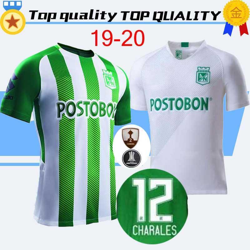 a5abafd4e 2019 New 2020 Atletico Nacional Medellin Soccer Jersey 19 20 Medellin Home  H.BARCOS TORRES Soccer Shirt Away RENTERIA LUCUMI Football Uniform From ...
