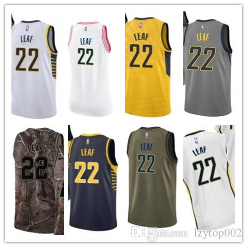 the best attitude d2f7c 5a442 2019 custom Men/WOMEN/youth Indiana Pacer jersey 22 T. J. Leaf basketball  jerseys free ship size s-xxl message name number