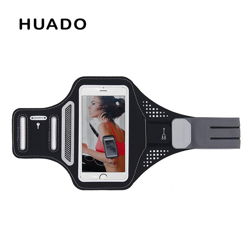 Sports bag Gym Bag Running Arm Pouch case mobile phone holder for running Universal Smartphone Arm Earphone Hole