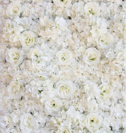 인공 꽃 벽 60X40 센치 메터 장미 HYDRANGEA 패널 웨딩 배경 배경 웨딩 파티 장식 용품 고객