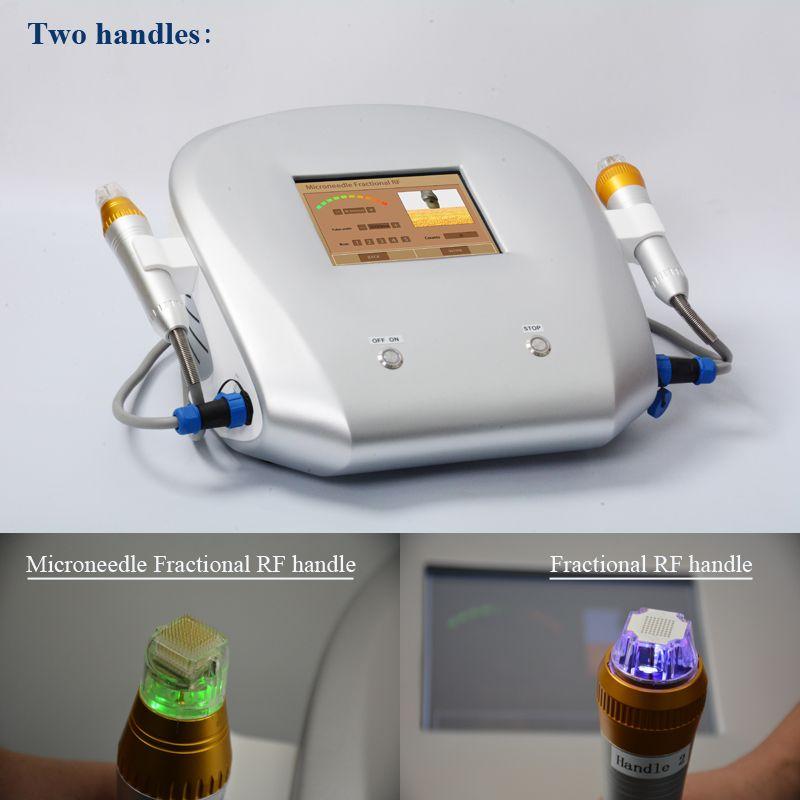 새로운 디자인 4 팁 분수 기계 Microneedle 분수 RF 마이크로 바늘 분수 RF 스킨 케어 뷰티 머신