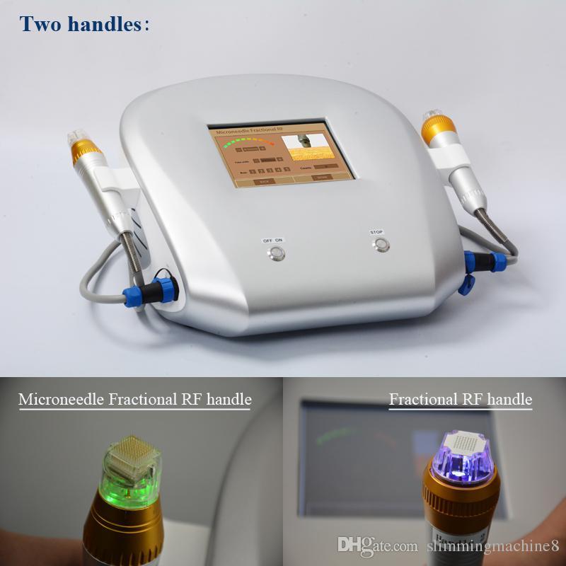 Micro пункция машина для ухода за кожей устройства дробная ВЧ Анс удаления Face Lift салон красоты оборудование DHL Бесплатная доставка