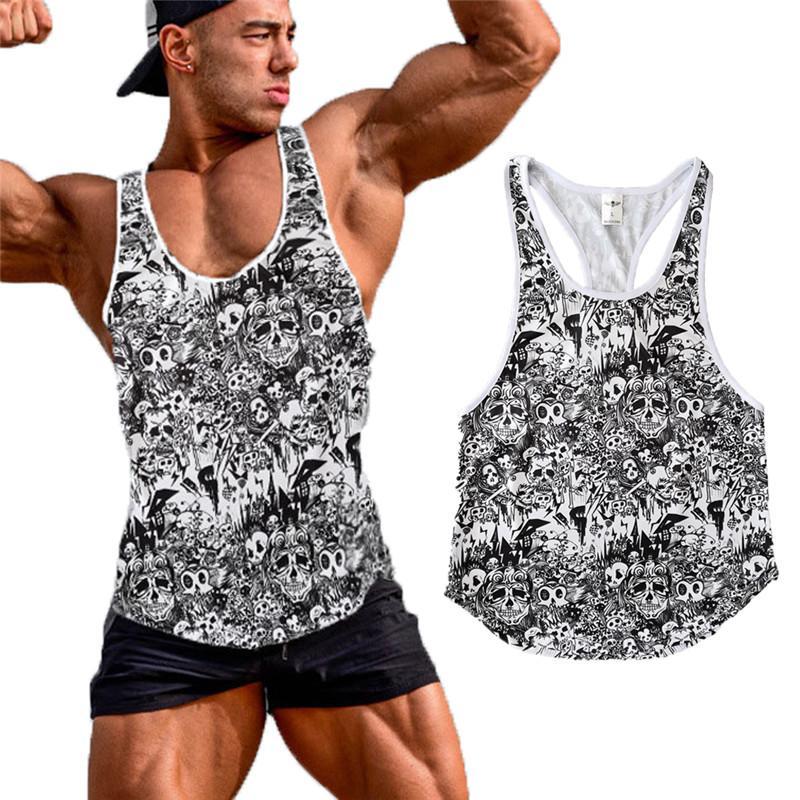 nova moda Slim Men Muscle tanque regulares Tops T-shirt Casual nervuras mangas masculina O pescoço Moda A-shirt t-shirt